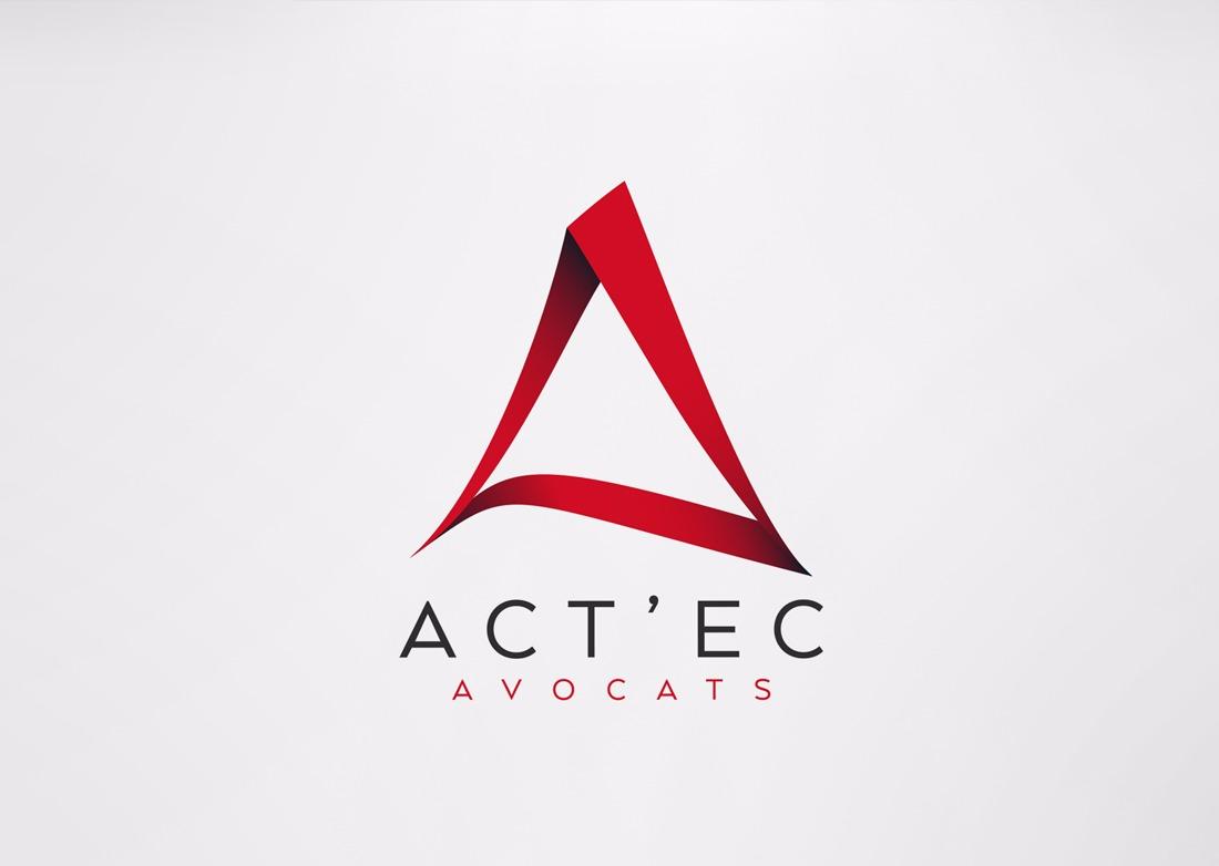 Logotype pour Act'ec Brive - Bicom Studio