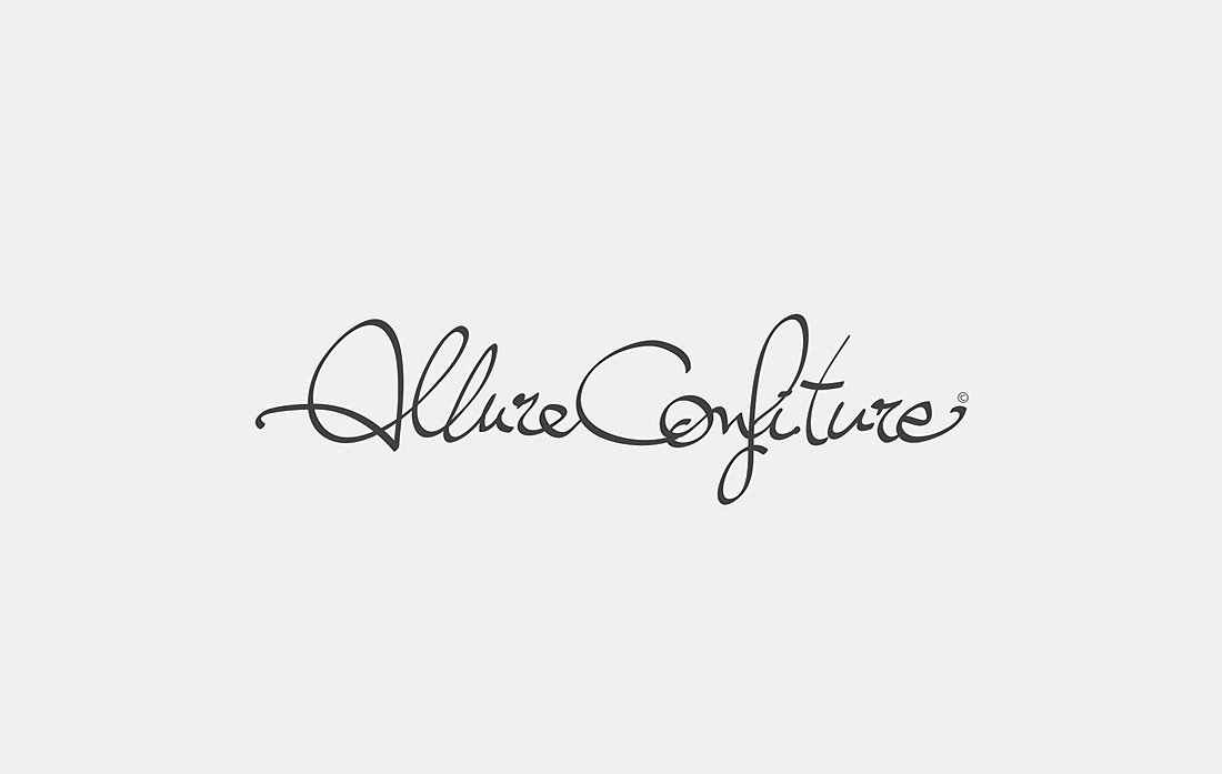 Logotype Allure & Confiture