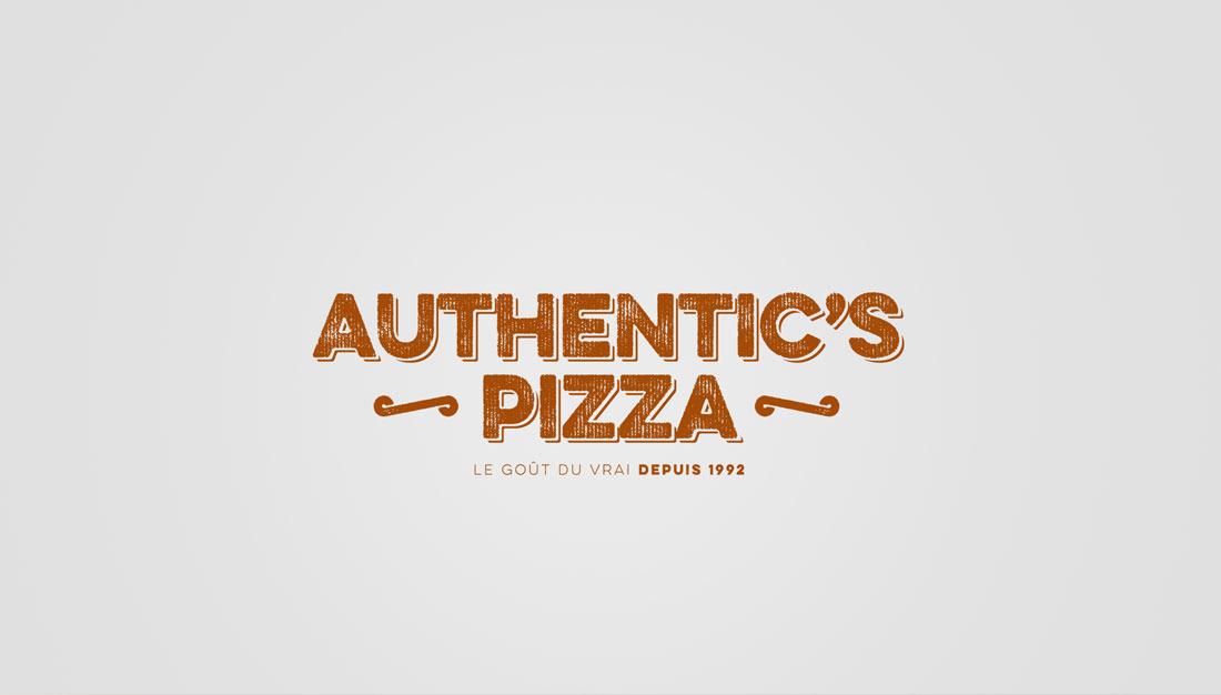 Authentic's Pizza logotype