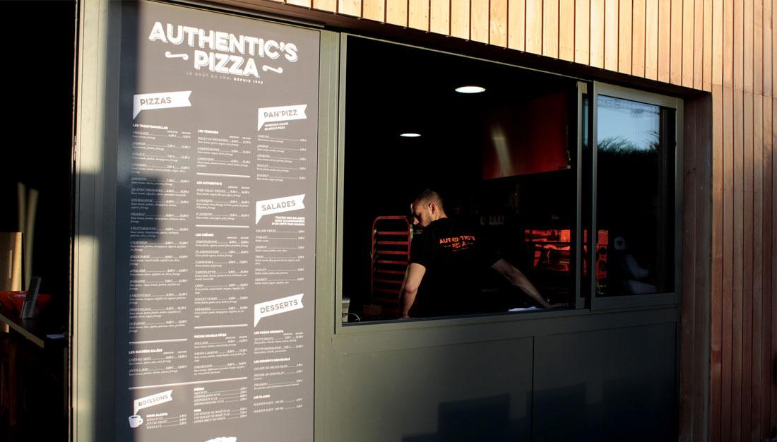 Authentics Pizza