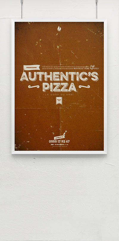 Athentic's Pizza