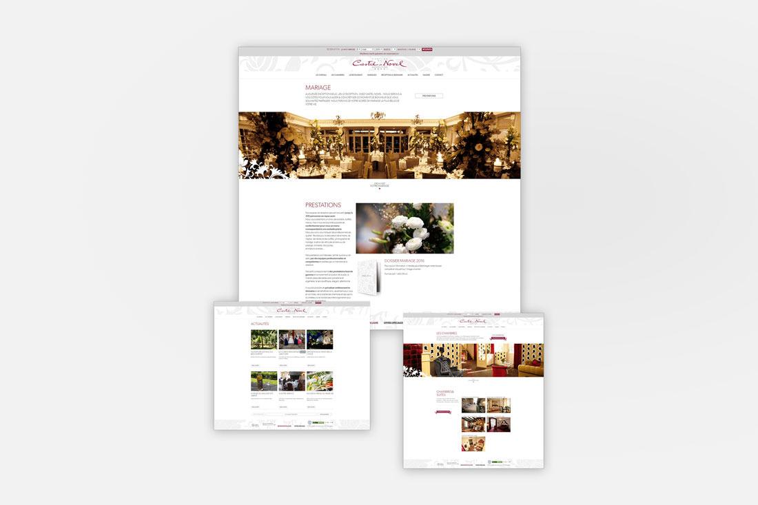 Site internet et Services Château de Castelnovel