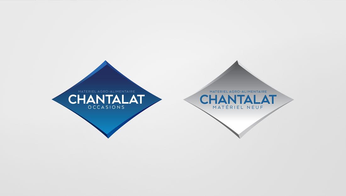 Chantalat logotypes