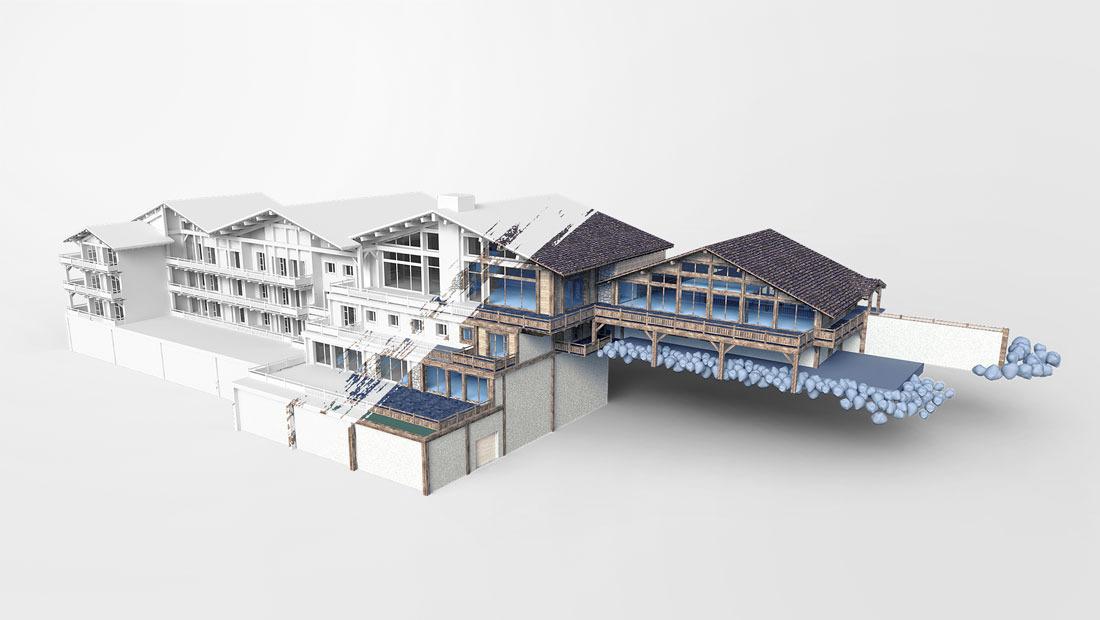 Crest Simulation 3D