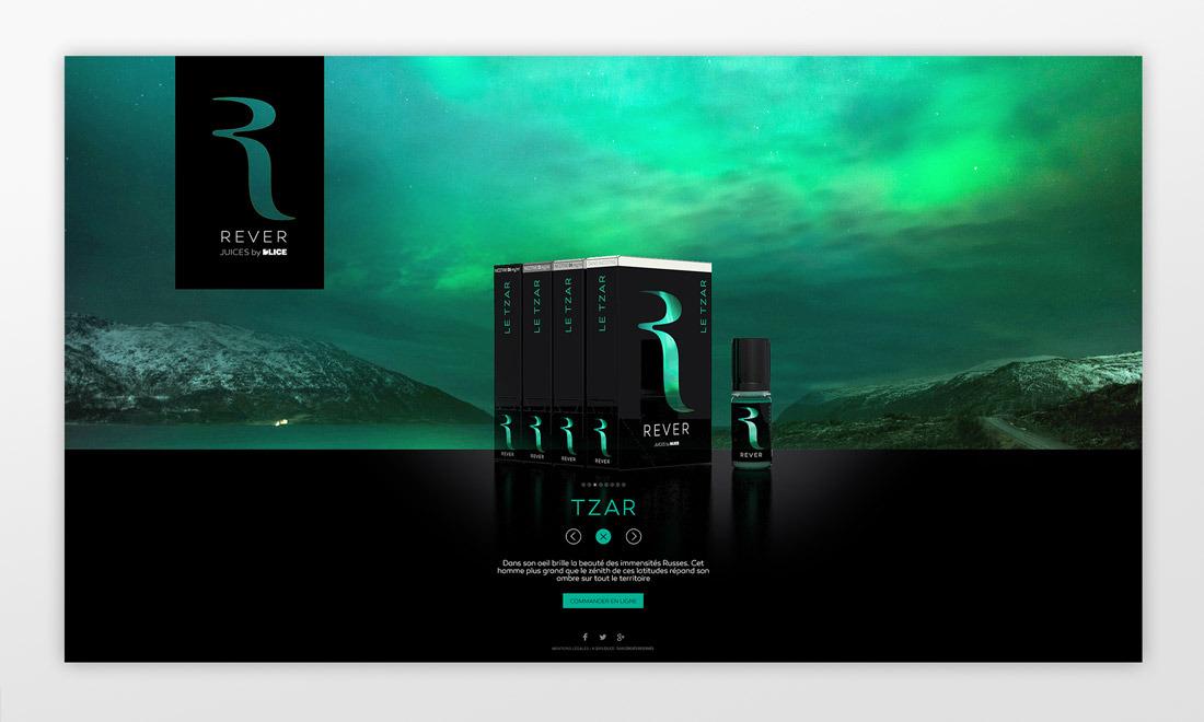 D'lice Rêver webdesign