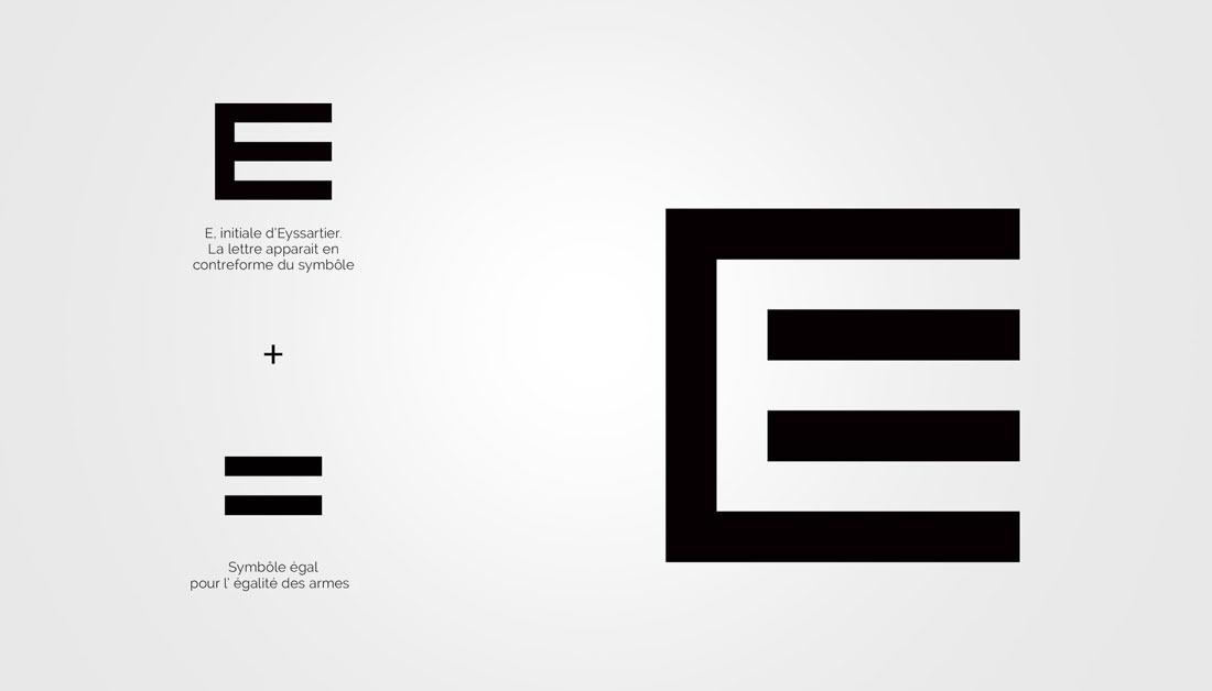 Concept logo Eyssartier Avocat