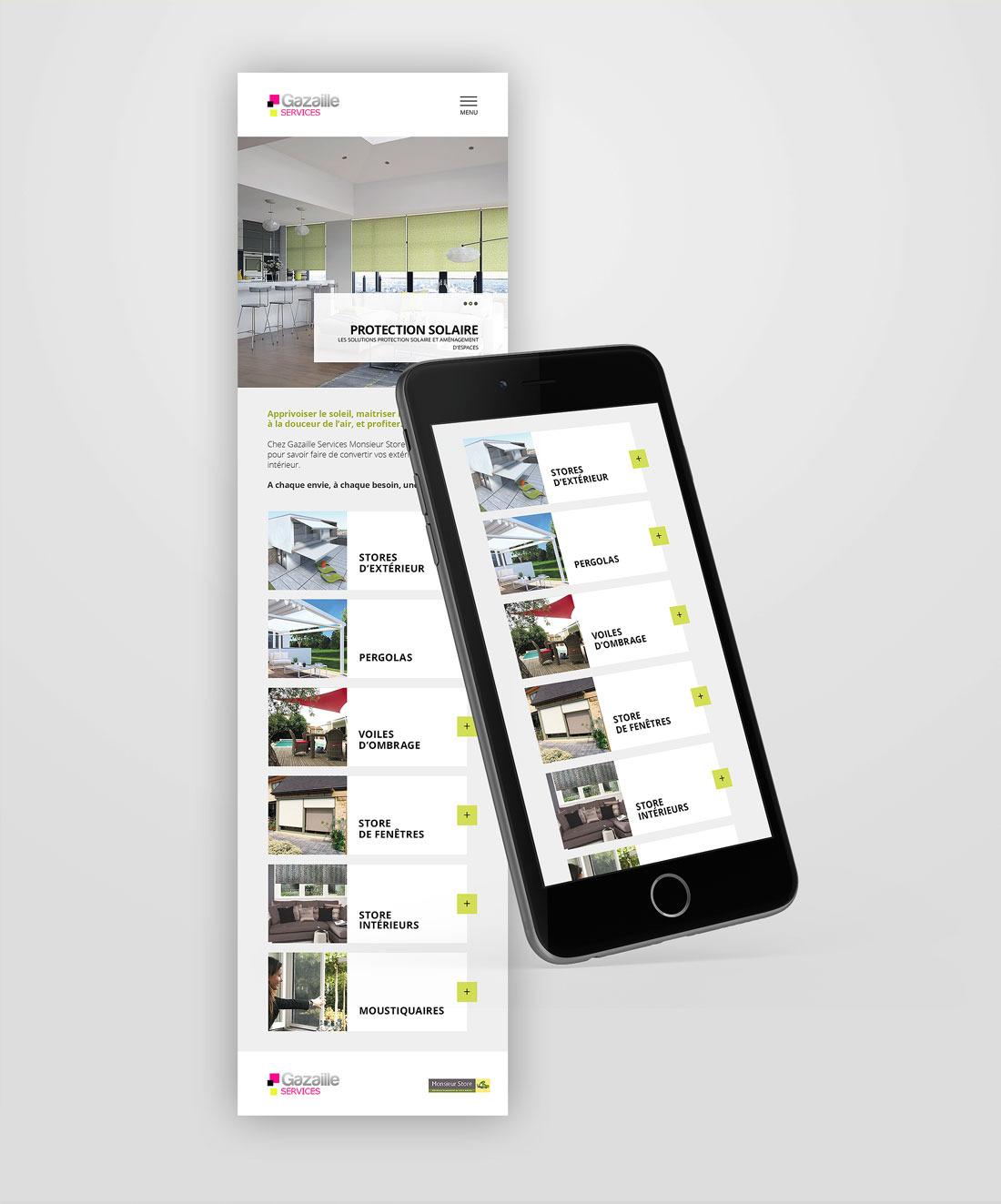 Gazaille Services web