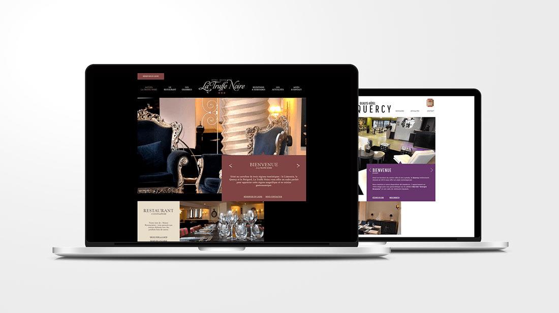 La Truffe Noire Site internet