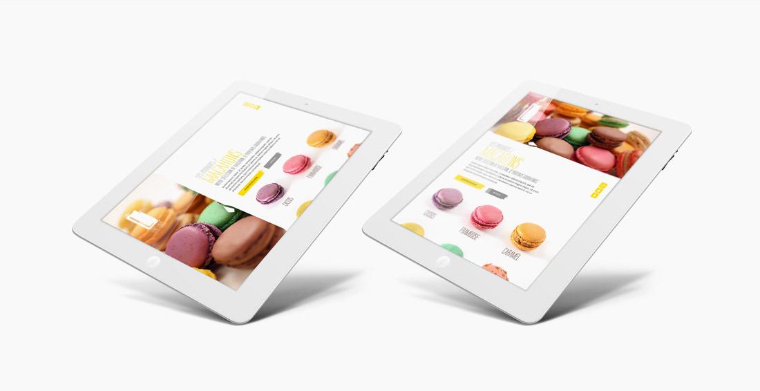 Lamy Chocolatier webdesign