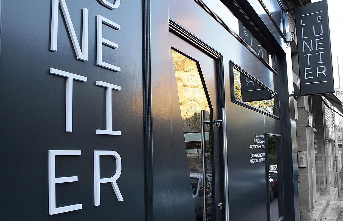 Le Lunetier design vitrine
