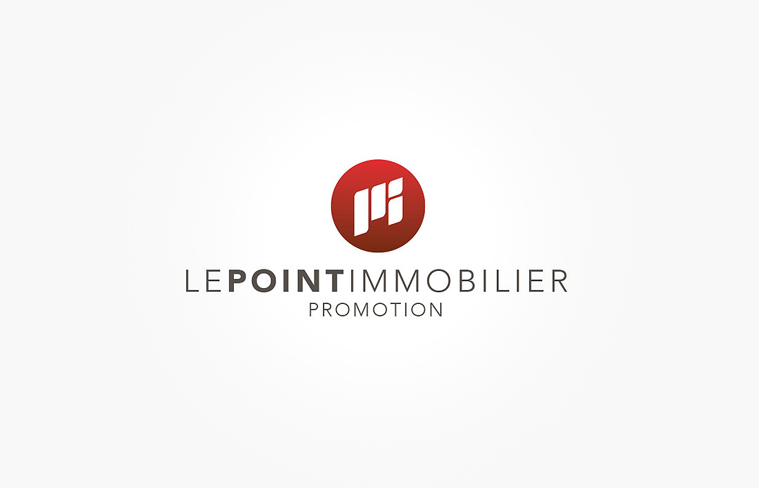 Logotype Bicom pour Le Point Immobilier