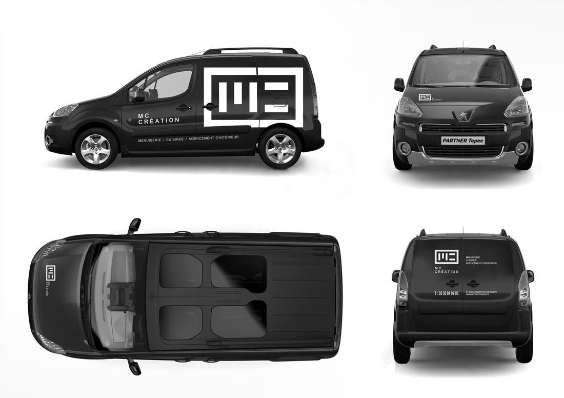 MC Création marquage des véhicules