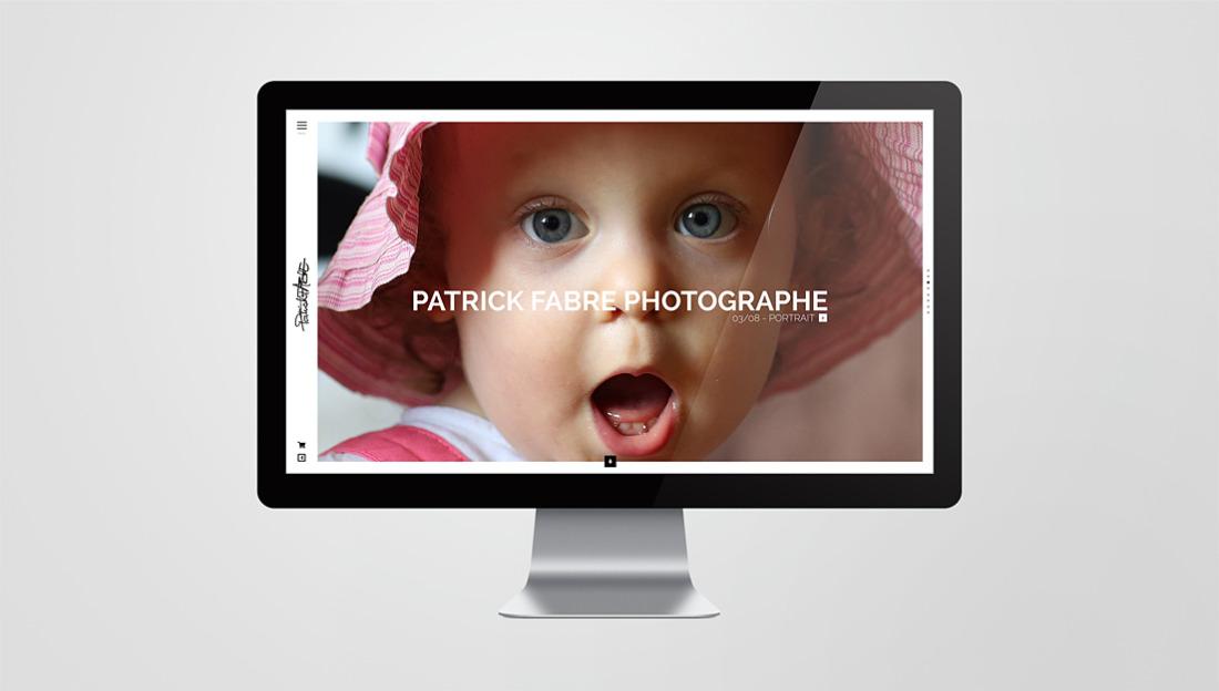 Site internet Patrick Fabre Photographe
