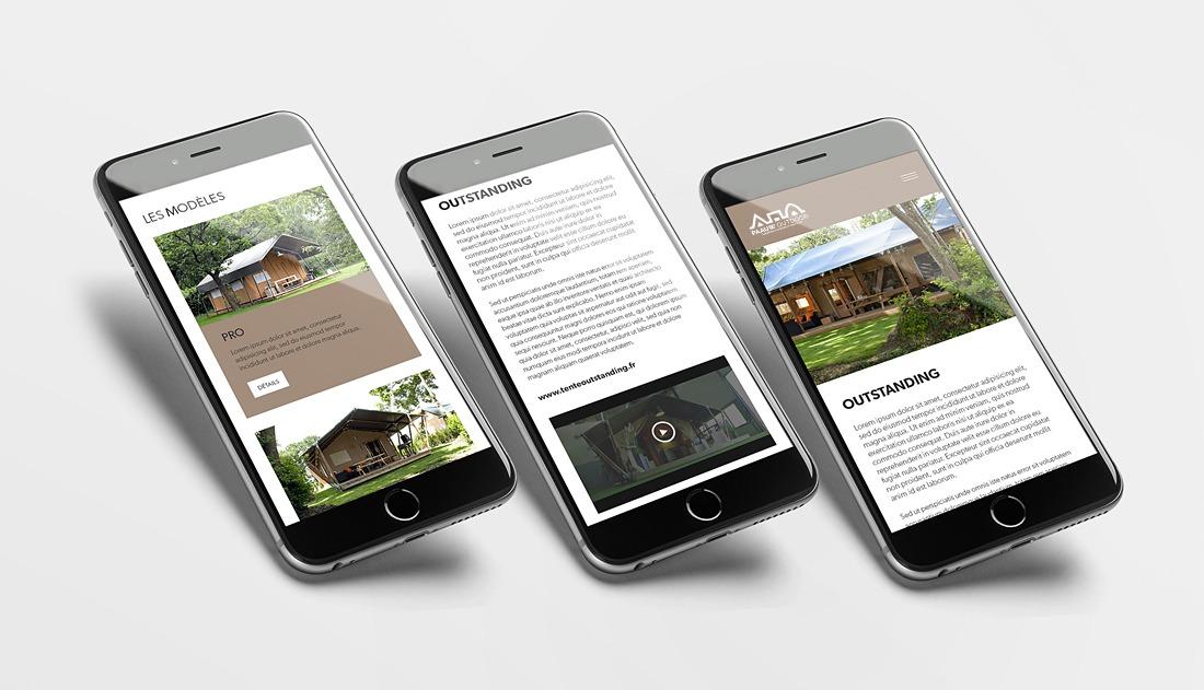 Responsive design Bicom Studio pour Paauw Outdoor