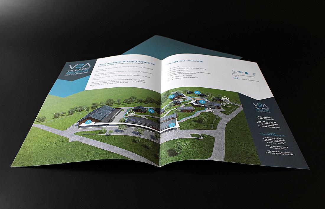 Village Séjour Accompagné illustration et plans